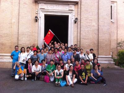 gruppo cinese san paolo tre fontane